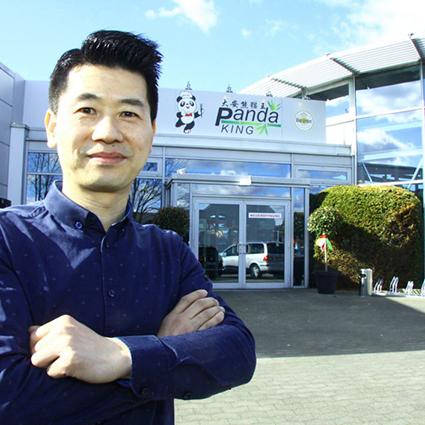 Panda King, ein Autohaus wurde zu einem aisatischen Food-Tempel mit 1.400 m² umgebaut