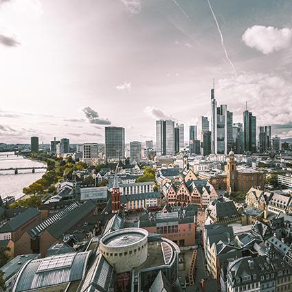 Frankfurt am Main kommt eine besondere Position unter den deutschen Städten zu